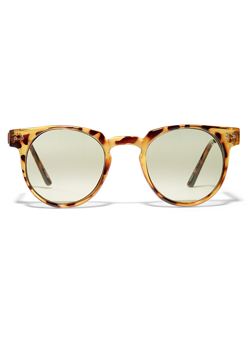 Spitfire Honey Teddy Boy round sunglasses for women