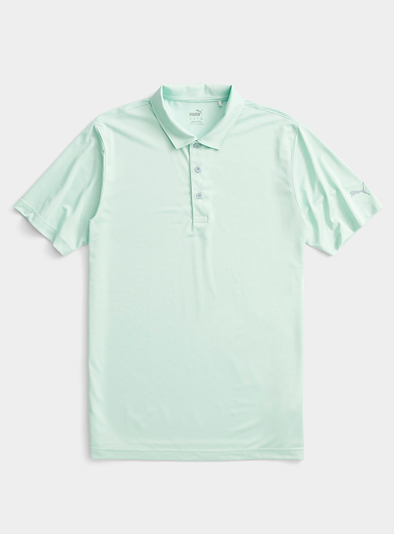 Puma Golf Kelly Green Rotation essential golf polo for men