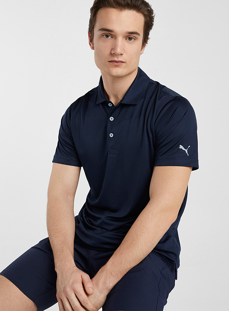 Puma Golf Marine Blue Rotation essential golf polo for men