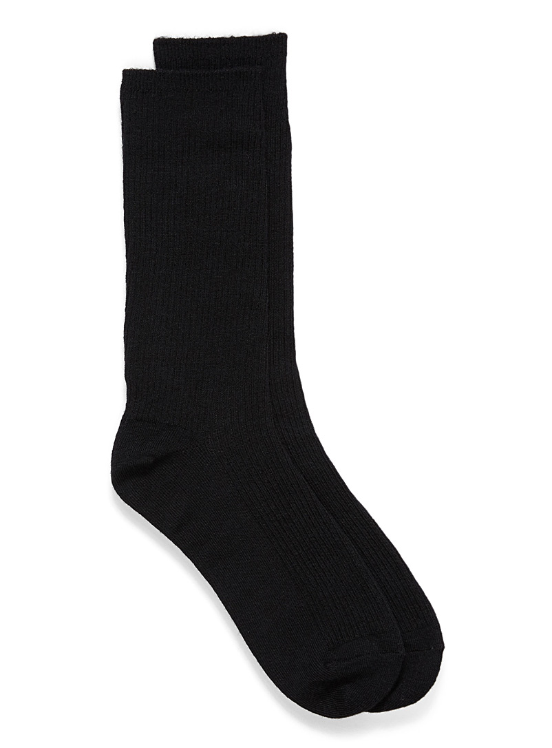 Touch of merino wool socks