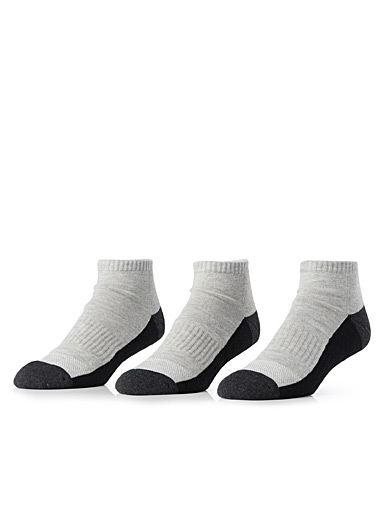 Short sporty ped sock 3-pack