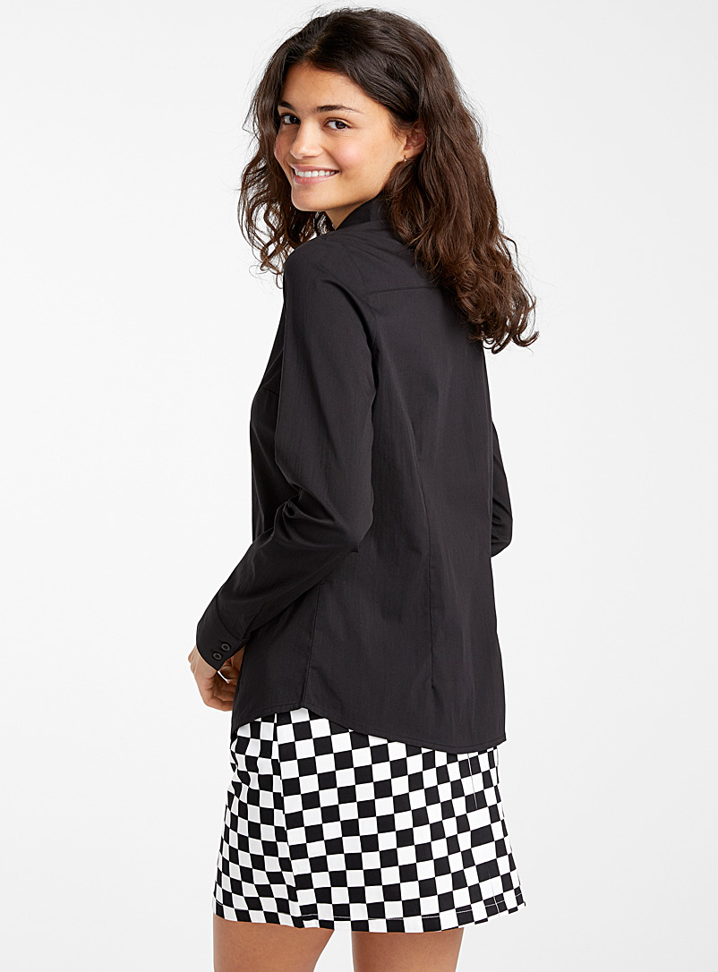Essential long-sleeve blouse - Shirts - Oxford