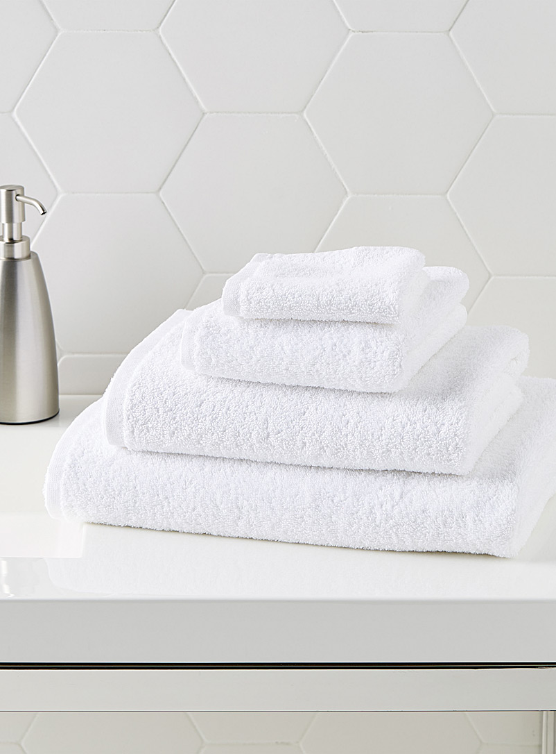 Simons Maison White Extra-value colour towels