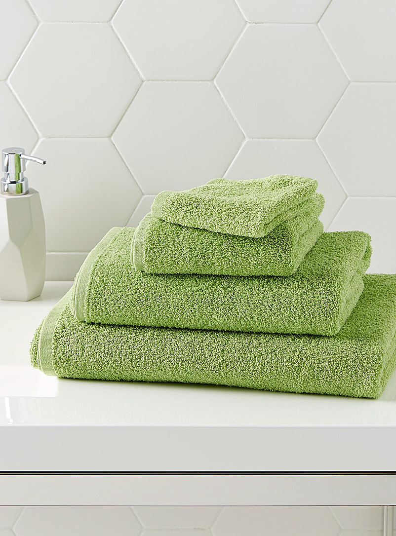 Extra-value colour towels - Daily Use - Kelly Green