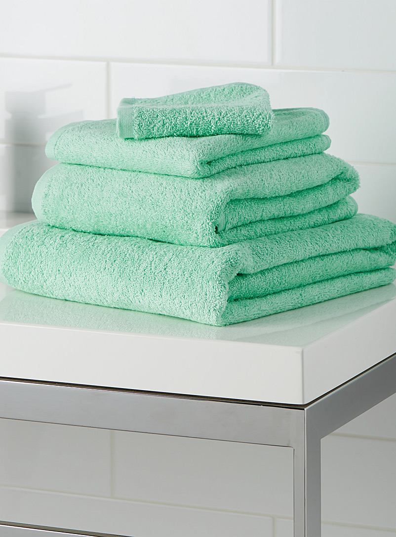 Extra-value colour towels - Daily Use - Mint Green
