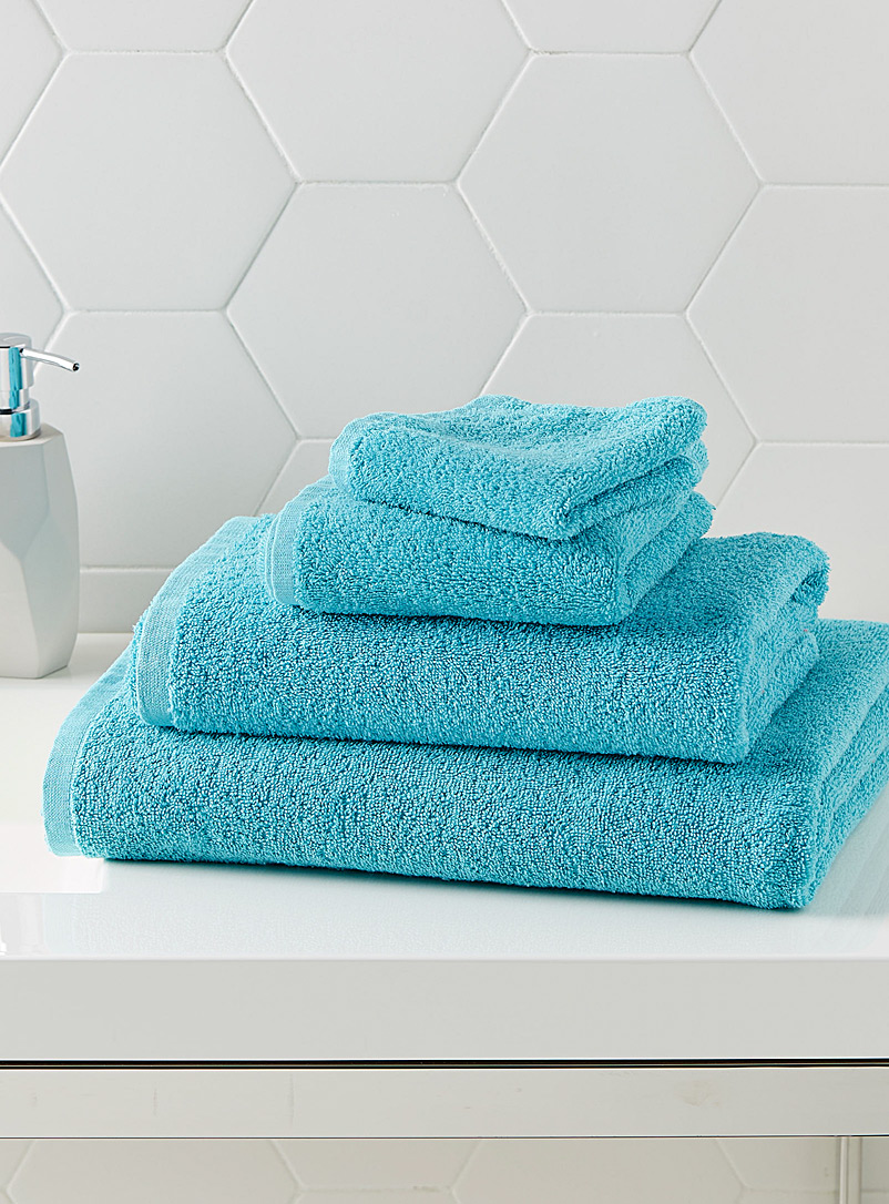 Simons Maison Teal Extra-value colour towels