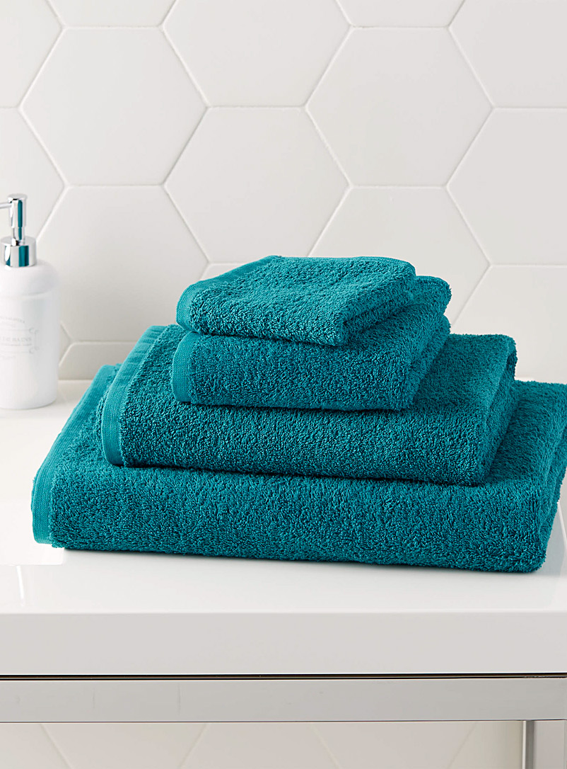 Extra-value colour towels - Solid - Assorted