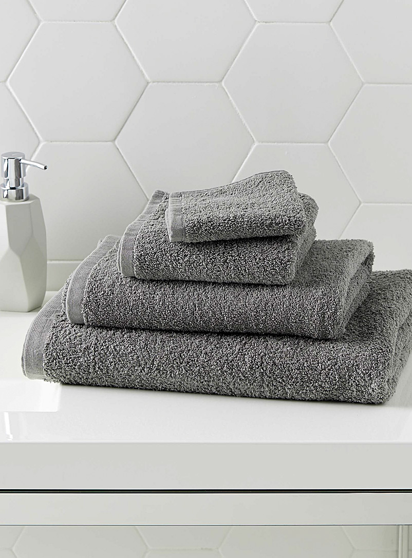 Extra-value colour towels - Daily Use - Dark Grey