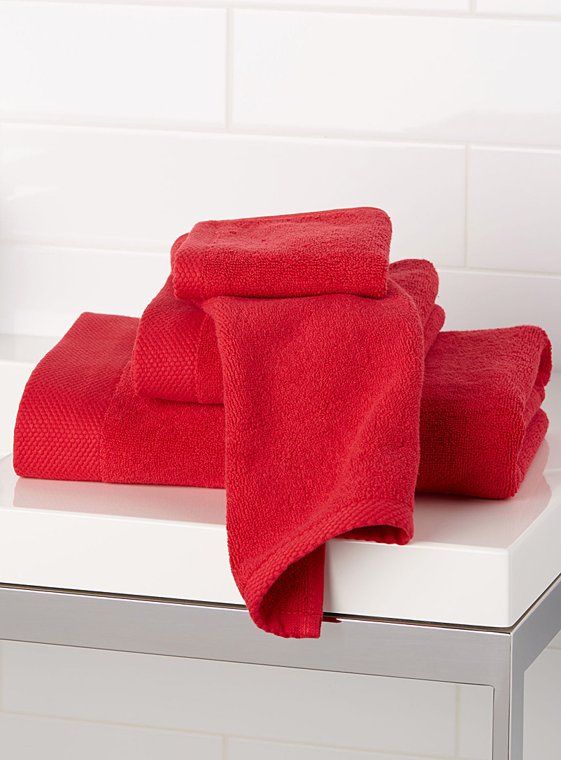 Grand hotel towels - Superior Quality - Red