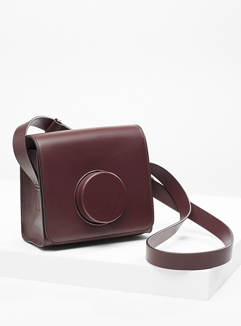 Lemaire Ruby Red Camera bag for women