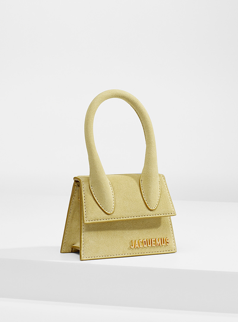 Jacquemus Lime Green Chiquito mini bag for women