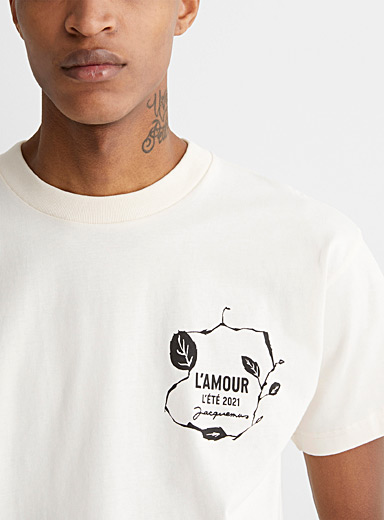 L'amour printed tee
