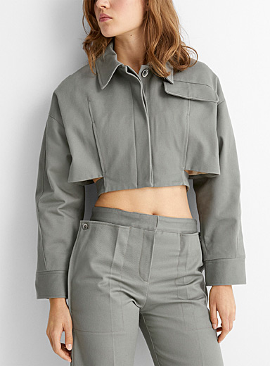 Esterel cropped jacket