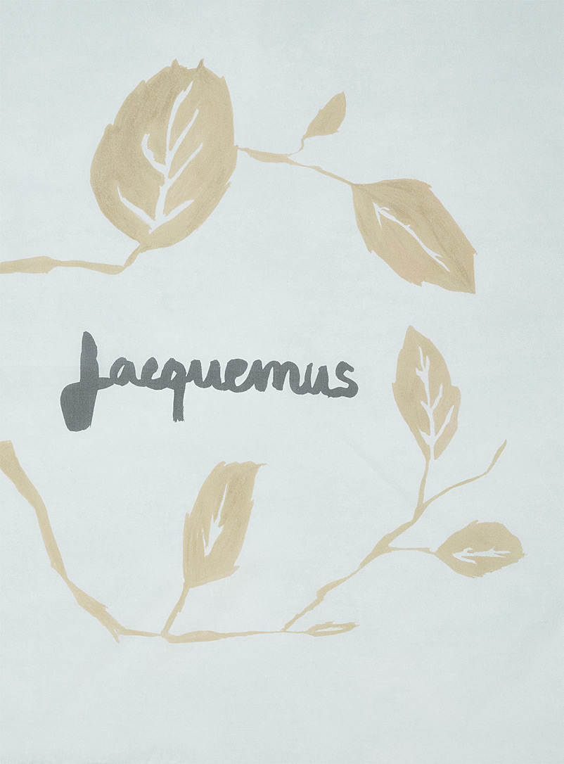 Jacquemus Baby Blue Le Bandeau scarf for women