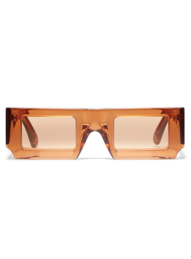 Jacquemus Orange Sun rectangular sunglasses for women