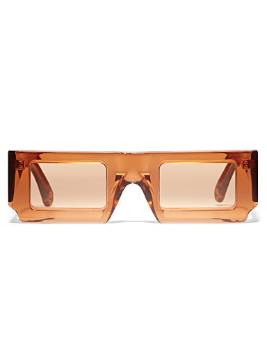 Sun rectangular sunglasses
