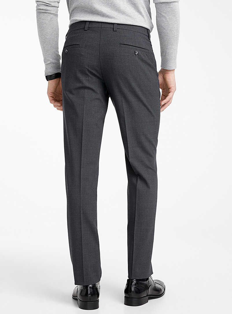 Business pant  Straight fit - Tailored - Charcoal