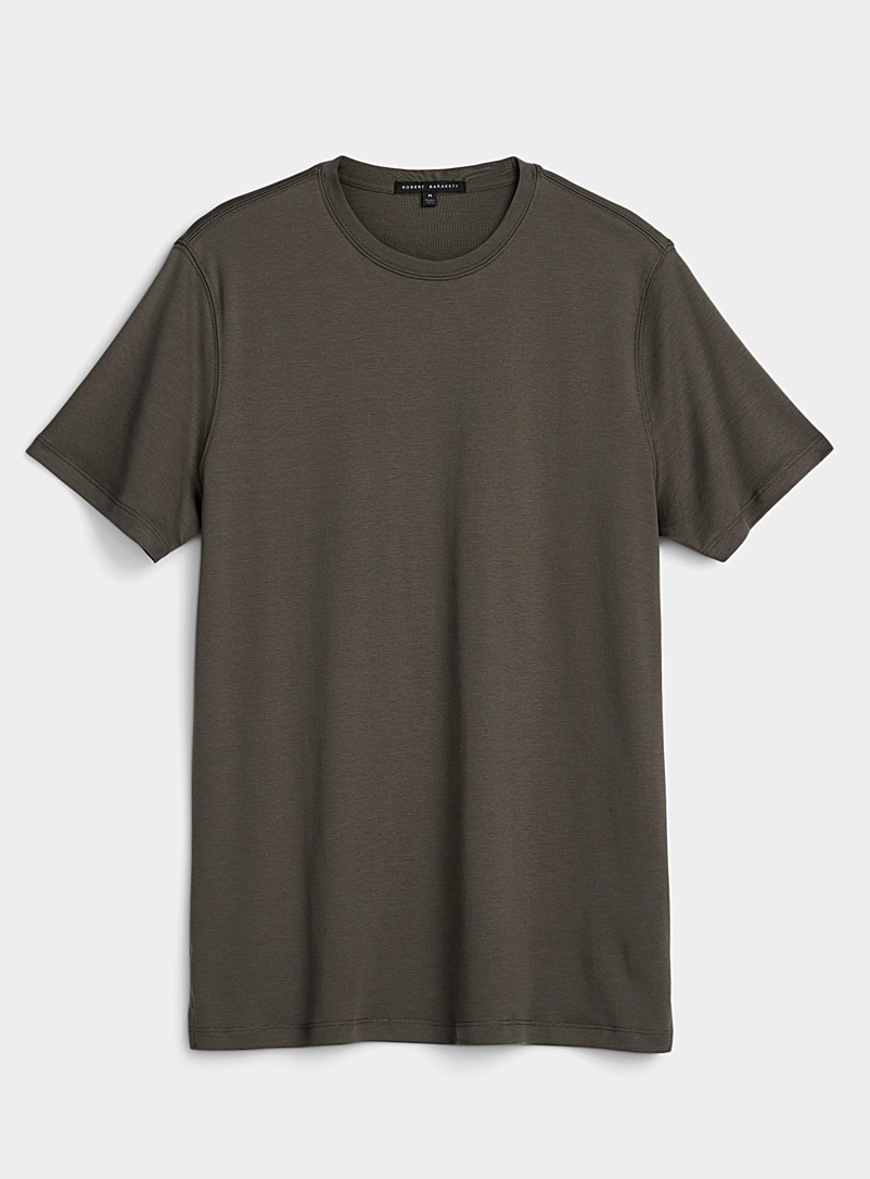 Robert Barakett White Luxurious pima cotton T-shirt for men