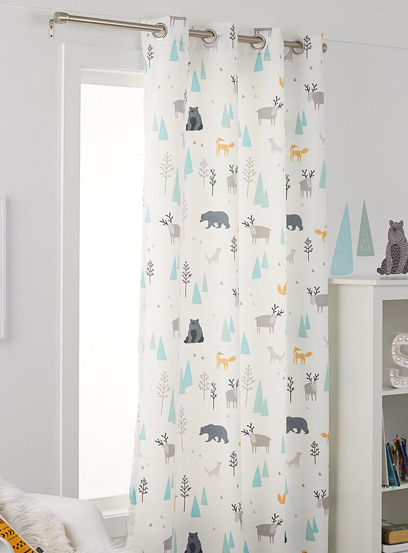 A walk in the woods curtain  132 x 213 cm - Printed - Assorted