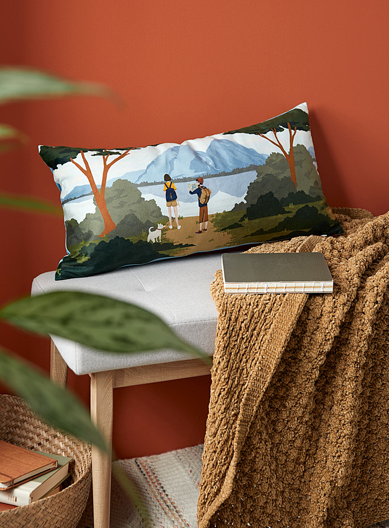 Simons Maison Assorted Mountain hike cushion  30 x 60?cm