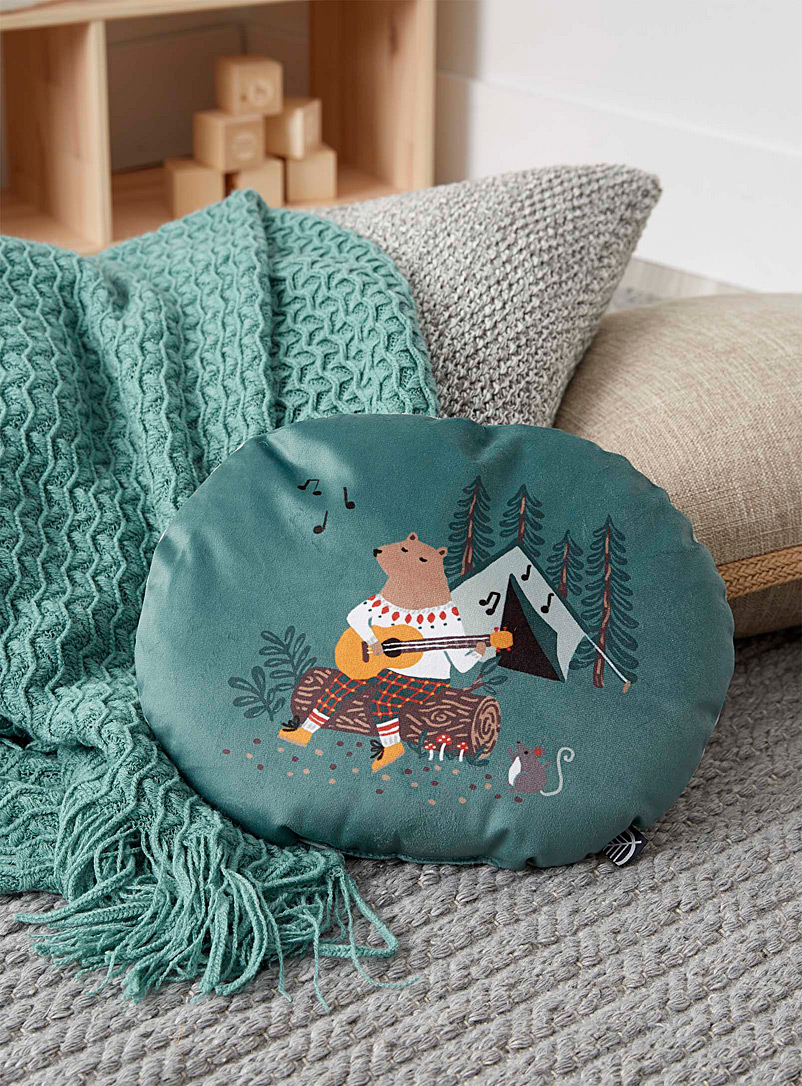 Boreal forest cushion  30cm x 24cm - Kids - Assorted