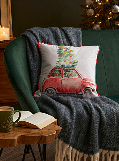 Christmas Eve cushion  45 x 45 cm