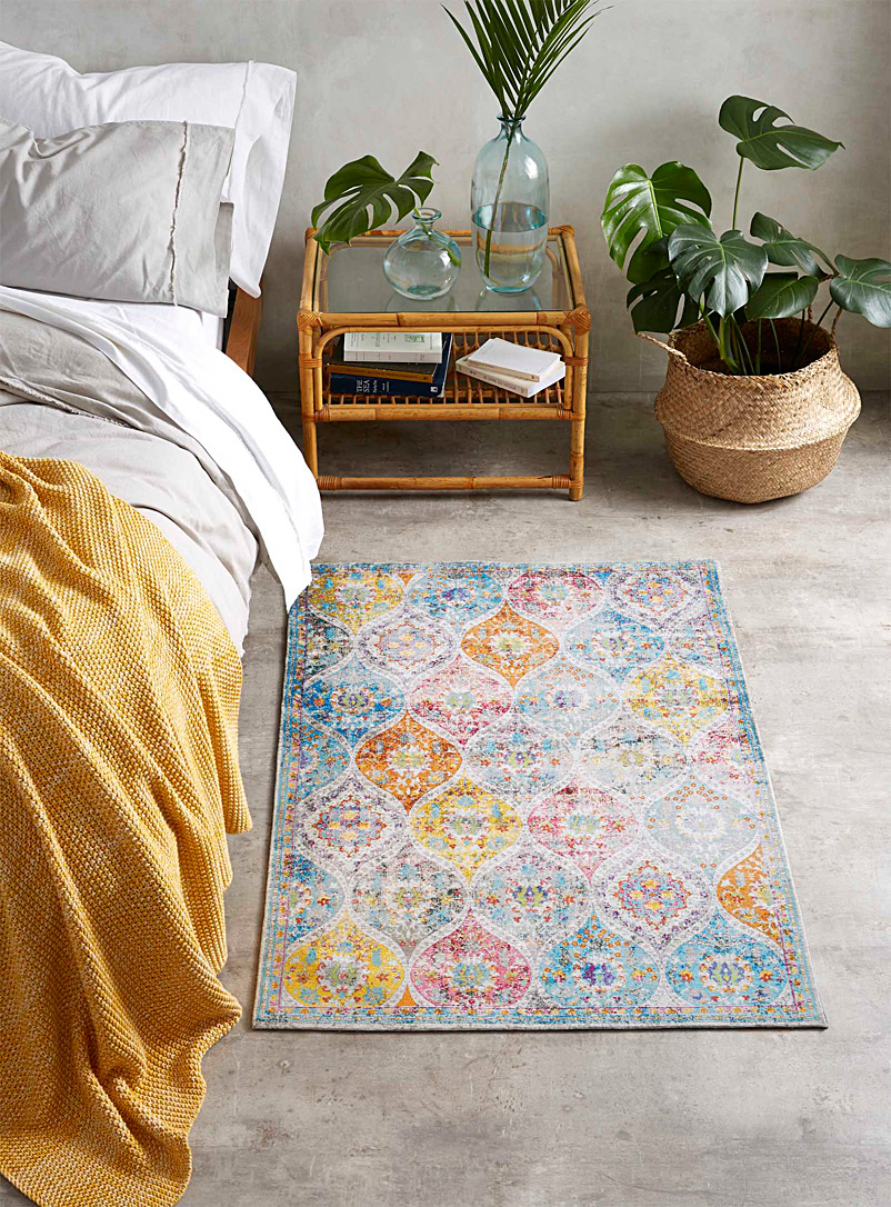 Colourful paisley rug  90 x 130 cm - Small Rugs - Assorted