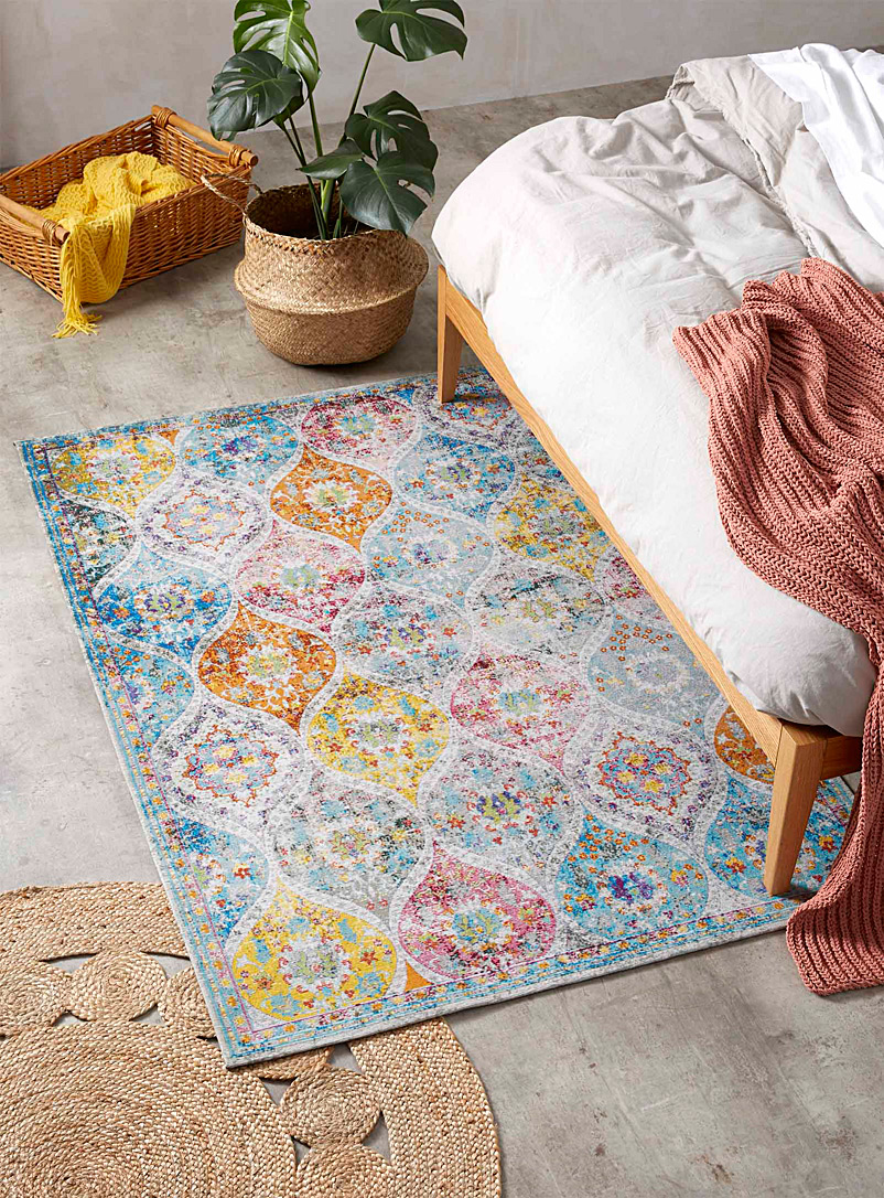 Colourful paisley rug  120 x 180 cm - Area Rugs - Assorted