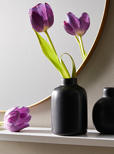 Tea infusion ceramic vase