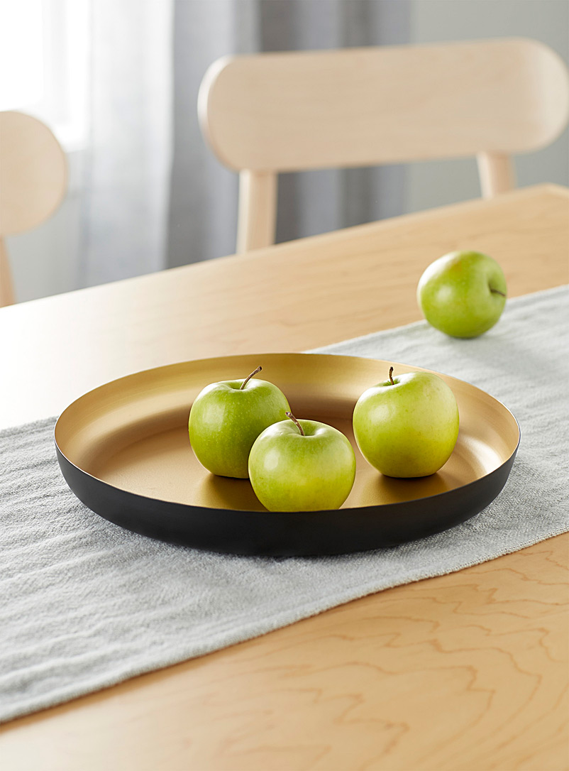 Simons Maison Assorted Brushed gold metal tray
