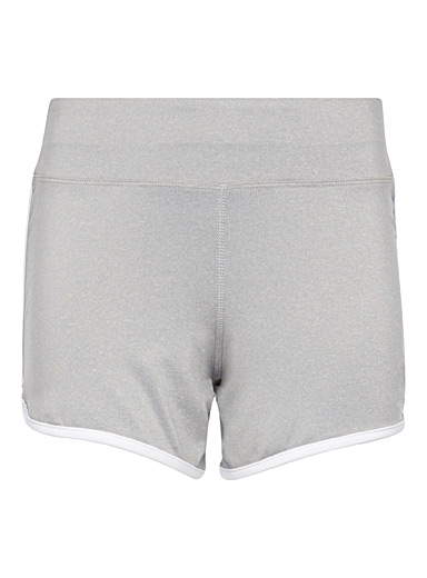 Sporty rounded-hem short