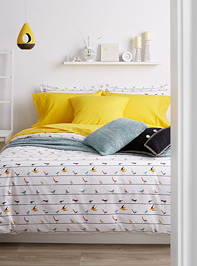 Birds on a wire duvet cover set