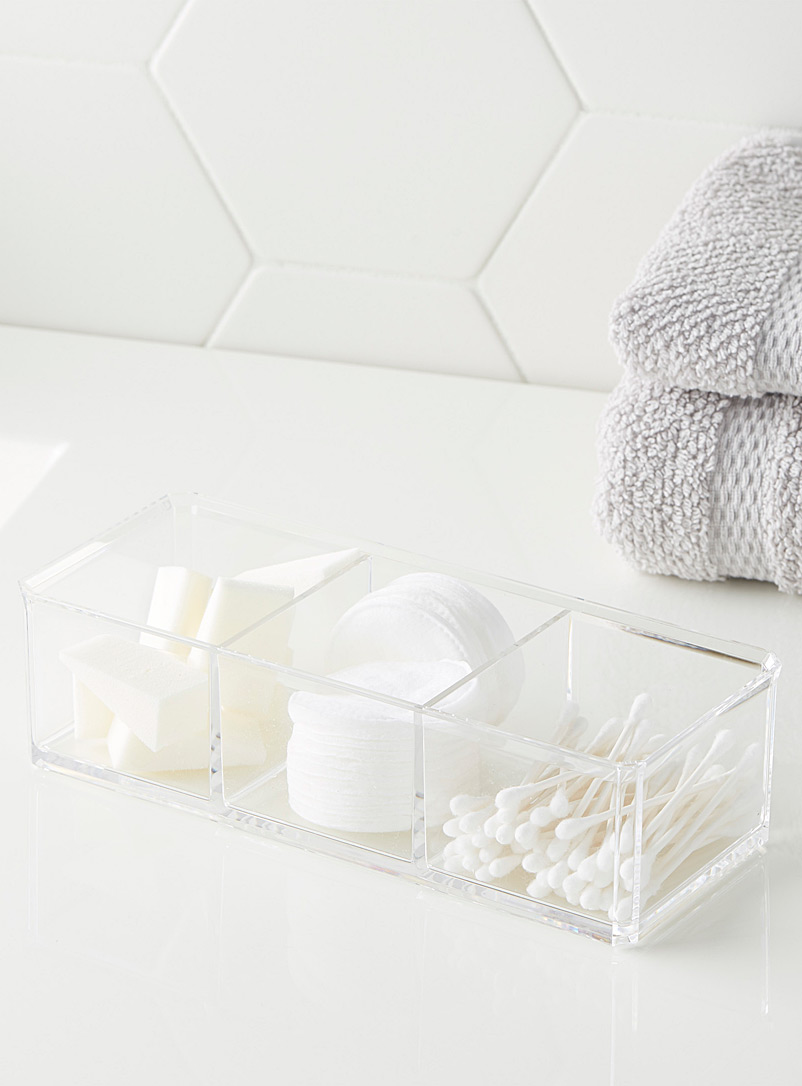 Simons Maison Assorted Translucent cosmetic organizer