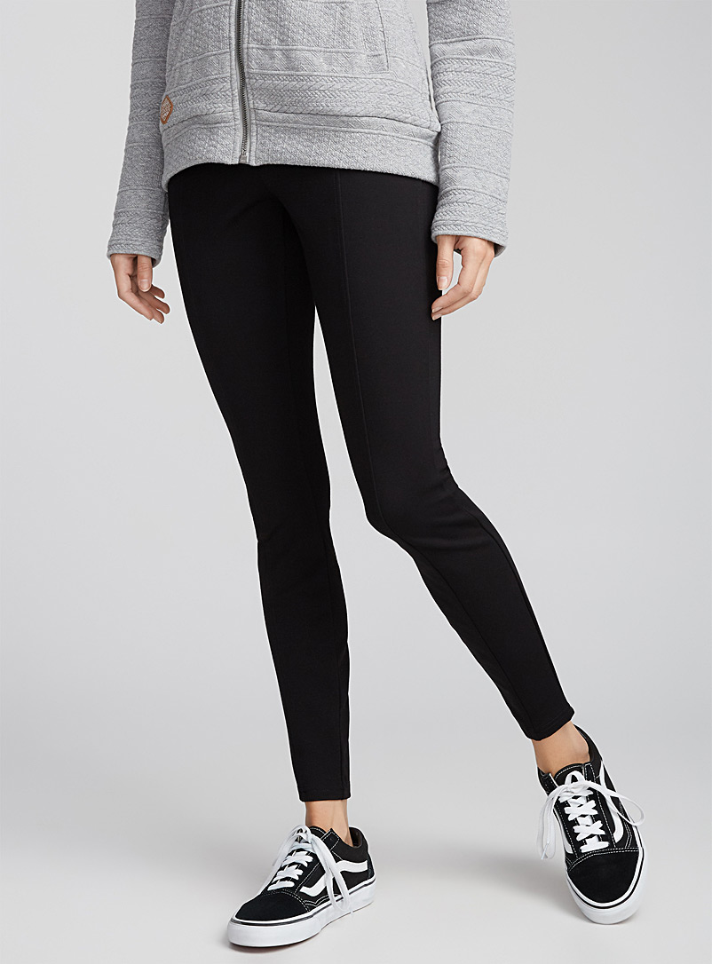 Elastic block legging - Leggings