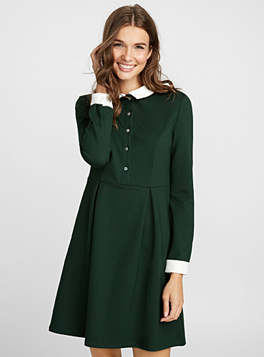 Schoolgirl shirtdress