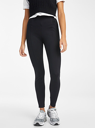 Side elastic legging