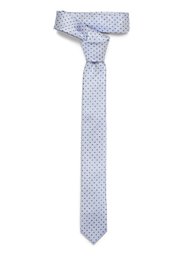 Dotted pastel tie