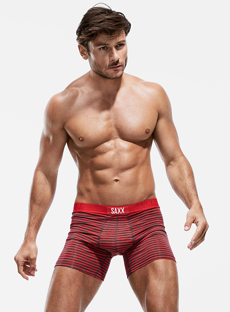 Mini stripe boxer brief - Boxer briefs - Ruby Red