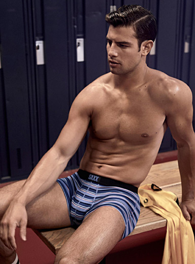 Striped trunk