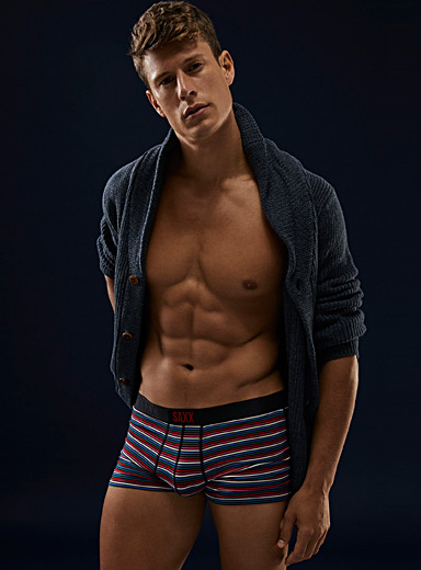 Combined stripe trunk