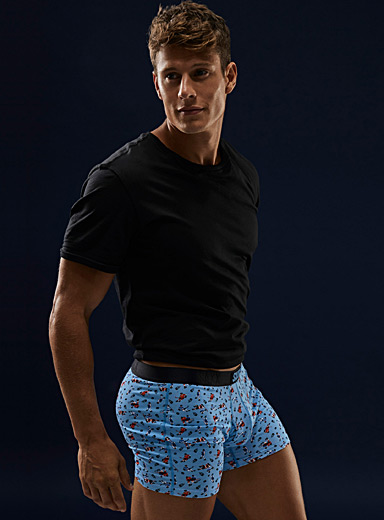 Hockey player boxer brief