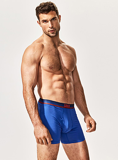 Micro-perforated travel boxer brief