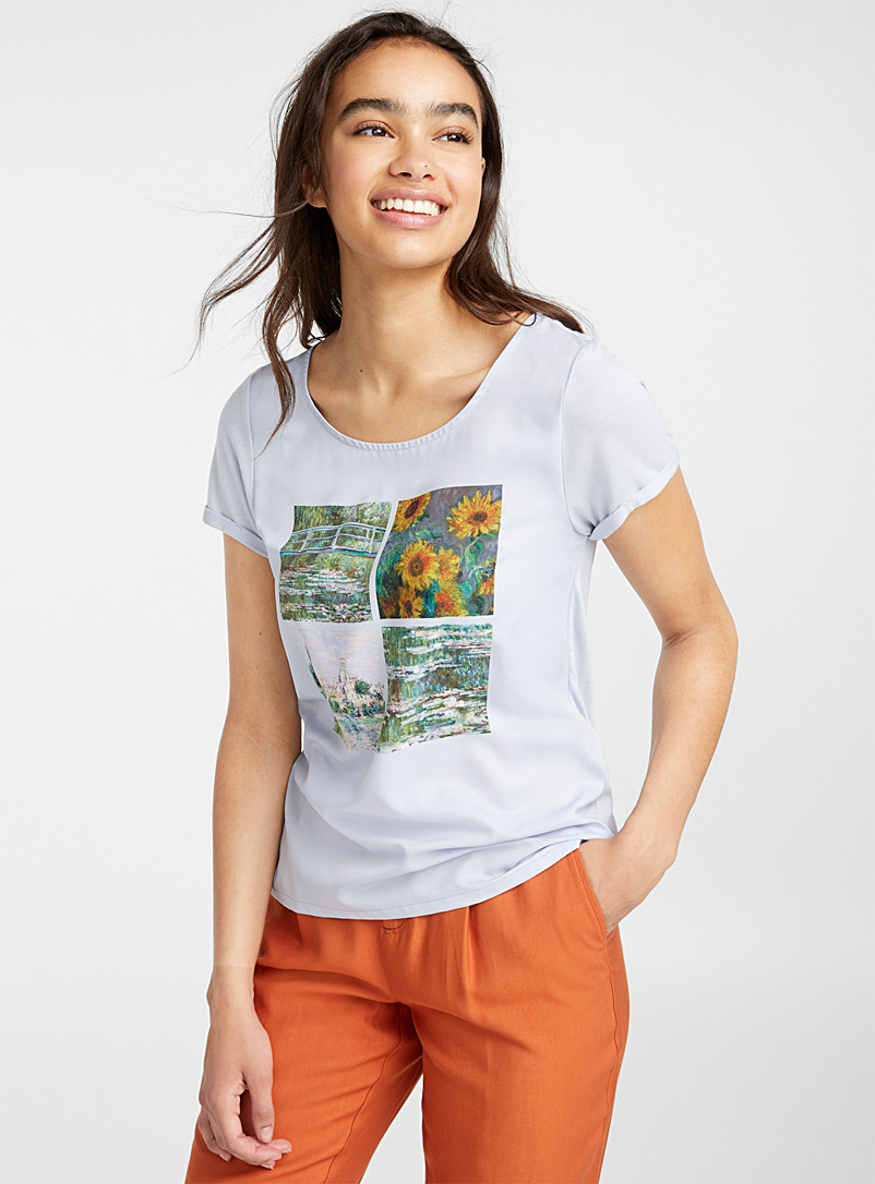 Photo print tee - Short Sleeves & ¾ Sleeves - Assorted