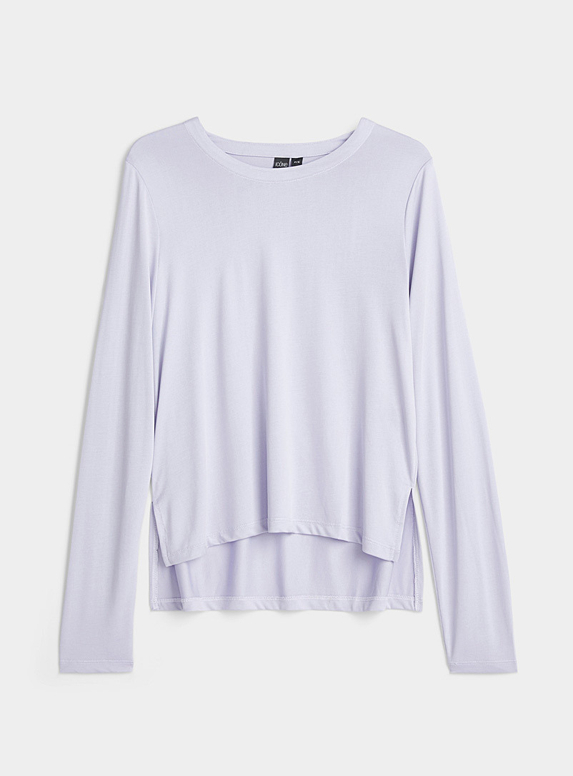 Long-sleeve TENCEL* Modal tee