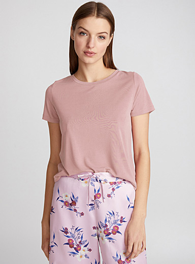 Miiyu x Twik Dusky Pink Essential modal tee for women
