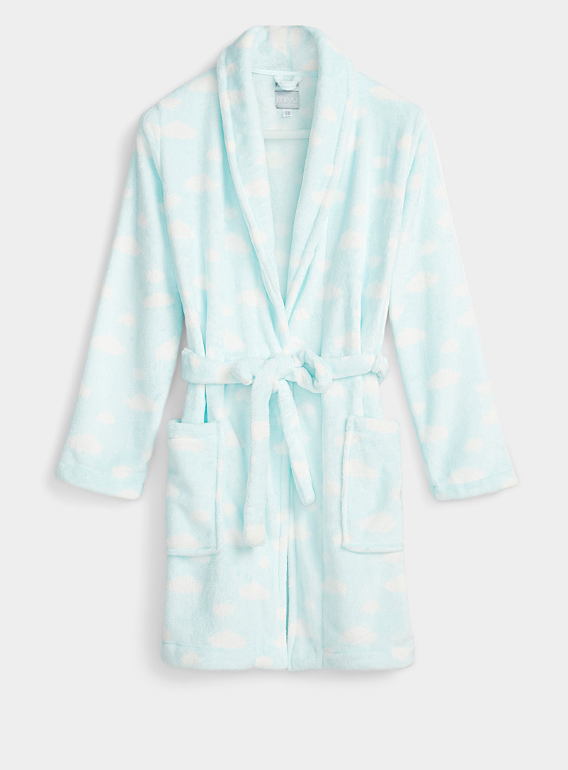Miiyu x Twik Pink Ultra soft plush robe for women