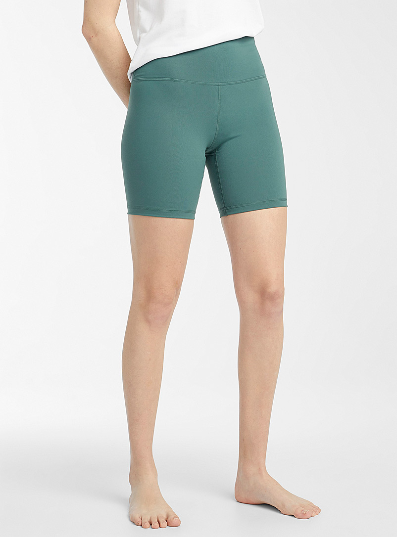 Miiyu x Twik Green High-rise biker short for women