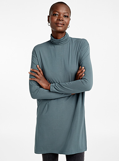 TENCEL modal turtleneck tunic
