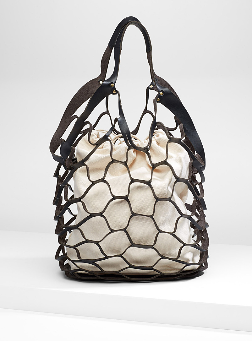 faux-leather-mesh-tote