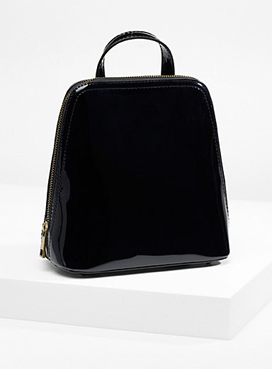 Small retro-style backpack